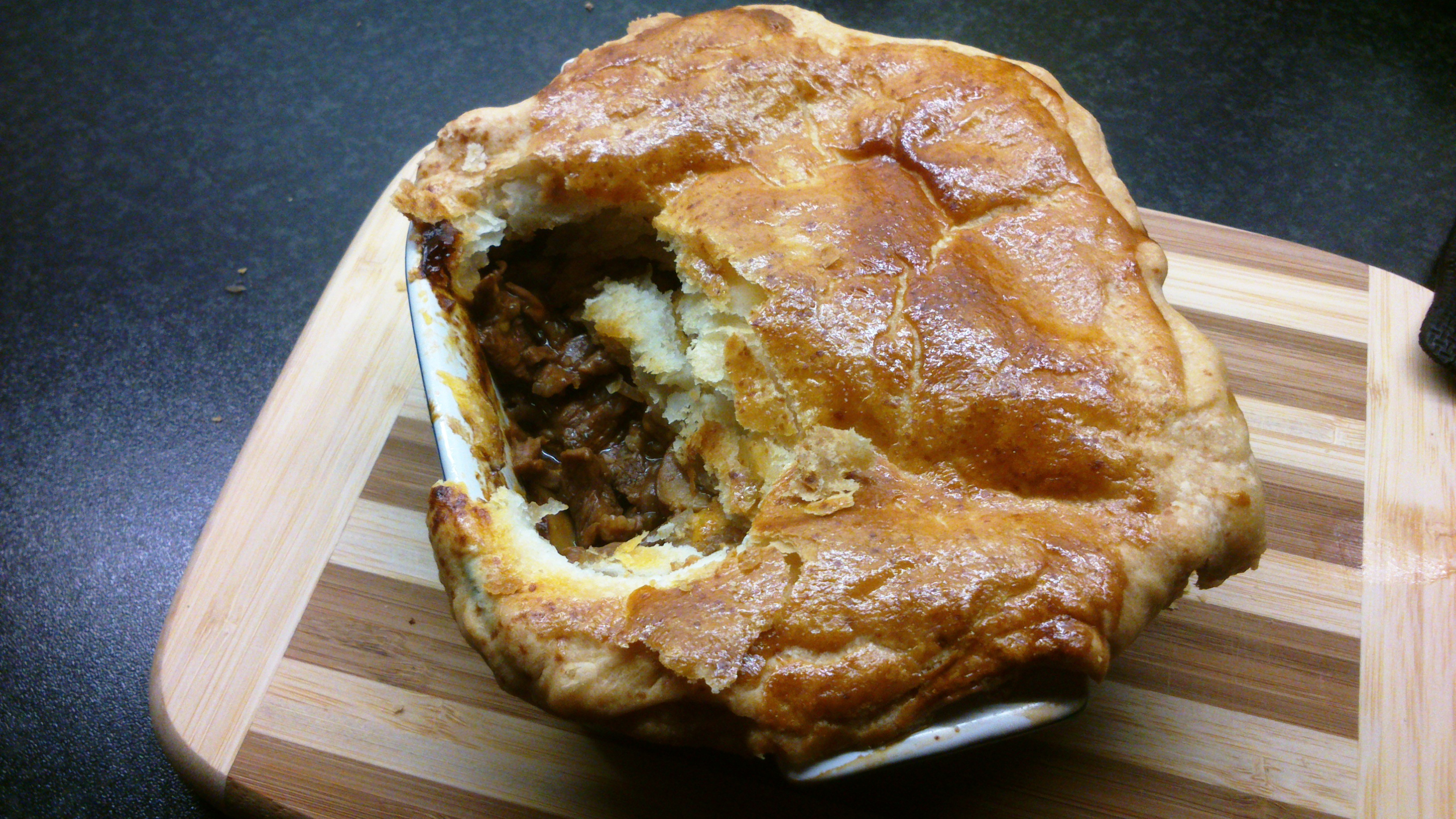 Beef and Guinness pie on a rainy November saturday evening. | From my ...